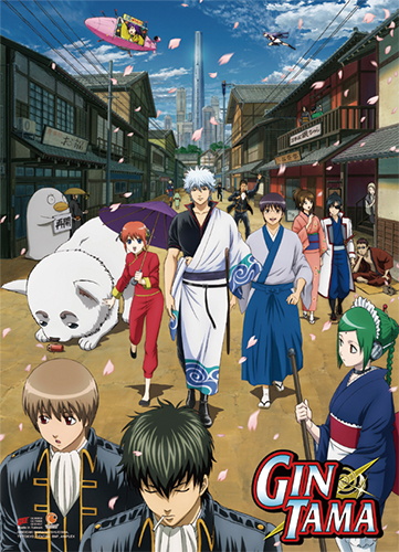 Gintama S3 - Key Art 2 Wall Scroll, an officially licensed product in our Gintama Wall Scroll Posters department.