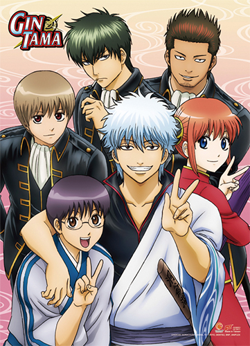 Gintama S3 - Group 02 Wall Scroll, an officially licensed product in our Gintama Wall Scroll Posters department.