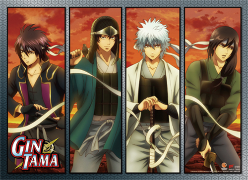 Gintama S3 - Group 03 Wall Scroll, an officially licensed product in our Gintama Wall Scroll Posters department.