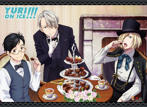 Yuri On Ice!!! - Butler Style Wall Scroll, an officially licensed product in our Yuri!!! On Ice Wall Scroll Posters department.