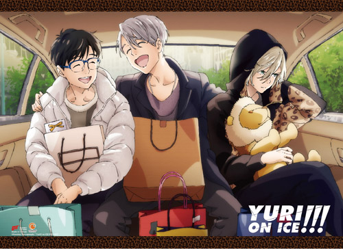 Yuri On Ice!!! - Yuri, Victoru & Yurio 6 Wall Scroll, an officially licensed product in our Yuri!!! On Ice Wall Scroll Posters department.