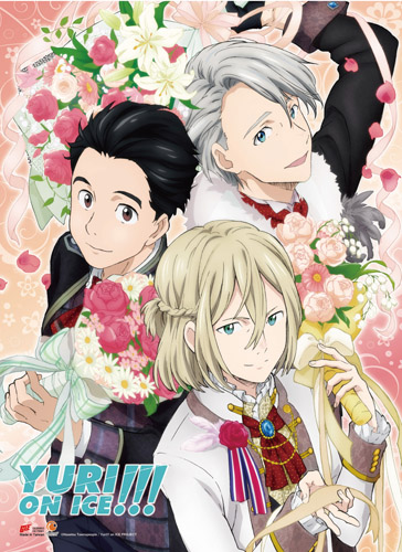 Yuri On Ice!!! - Yuri, Victoru & Yurio 7 Wall Scroll, an officially licensed product in our Yuri!!! On Ice Wall Scroll Posters department.