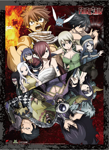 Fairy Tail - S8 Group 01 Wall Scroll, an officially licensed product in our Fairy Tail Wall Scroll Posters department.