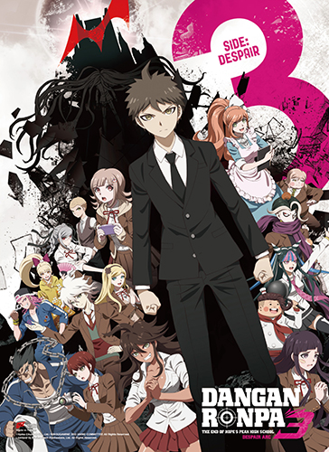 Danganronpa 3 - Despair Key Art Wall Scroll officially licensed Danganronpa Wall Scroll Posters product at B.A. Toys.