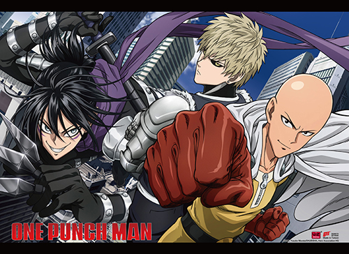 One Punch Man - Group 03 Wall Scroll, an officially licensed product in our One-Punch Man Wall Scroll Posters department.