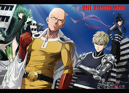 One Punch Man - Group 04 Wall Scroll, an officially licensed product in our One-Punch Man Wall Scroll Posters department.