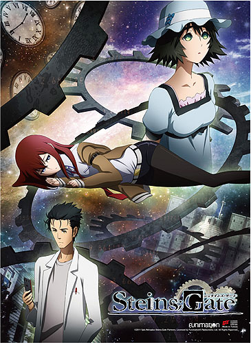 Steins;Gate - Key Art Wall Scroll officially licensed Stein;S Gate Wall Scroll Posters product at B.A. Toys.