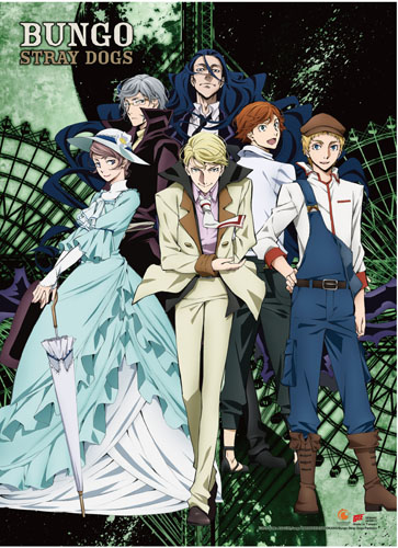 Bungo Stray Dogs - S2 Key Art Wall Scroll officially licensed Bungo Stray Dogs Wall Scroll Posters product at B.A. Toys.