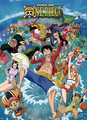 One Piece - 2017 Key Art Wall Scroll, an officially licensed product in our One Piece Wall Scroll Posters department.