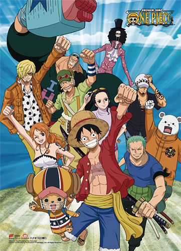 One Piece - 2017 Group 03 Wall Scroll, an officially licensed product in our One Piece Wall Scroll Posters department.