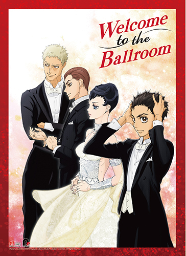 Welcome To The Ballroom - Key Art Wall Scroll, an officially licensed product in our Welcome To The Ballroom Wall Scroll Posters department.