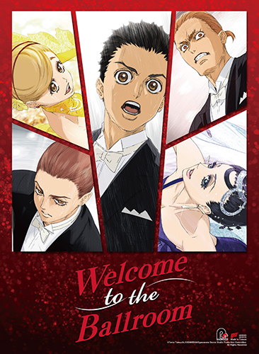 Welcome To The Ballroom - Key Art 2 Wall Scroll, an officially licensed product in our Welcome To The Ballroom Wall Scroll Posters department.