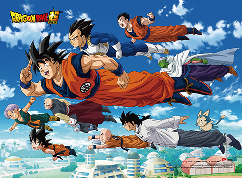 Dragon Ball Super - Unversal Survival Wall Scroll, an officially licensed product in our Dragon Ball Super Wall Scroll Posters department.