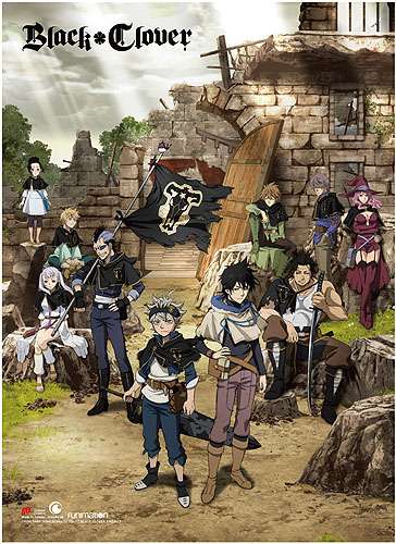 Black Clover - Key Art Wall Scroll, an officially licensed product in our Black Clover Wall Scroll Posters department.