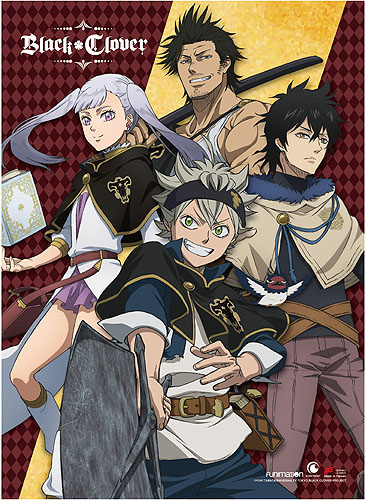 Black Clover - Group Wall Scroll, an officially licensed product in our Black Clover Wall Scroll Posters department.