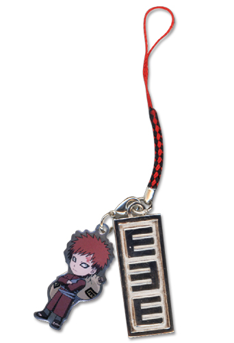 Naruto Shippuden Gaara & Symbol Cell Phone Charm, an officially licensed product in our Naruto Shippuden Costumes & Accessories department.