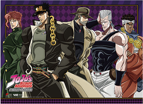 Jojo's Bizarre Adventure - Group 02 Wall Scroll, an officially licensed product in our Jojo'S Bizarre Adventure Wall Scroll Posters department.