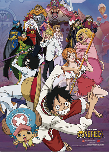 One Piece - Whole Cake Island Group 1 Wall Scroll, an officially licensed product in our One Piece Wall Scroll Posters department.