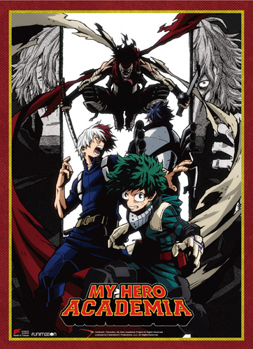 My Hero Academia - S2 Key Art 3 Wall Scroll, an officially licensed product in our My Hero Academia Wall Scroll Posters department.