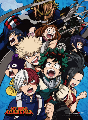My Hero Academia - S2 Group 1 Wall Scroll, an officially licensed product in our My Hero Academia Wall Scroll Posters department.