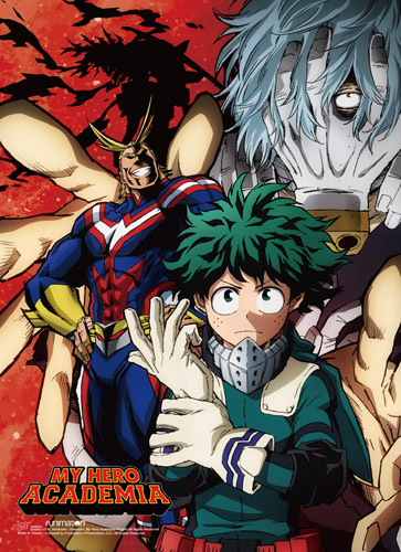 My Hero Academia - S2 Group 2 Wall Scroll, an officially licensed product in our My Hero Academia Wall Scroll Posters department.