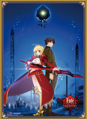 Fate/extra Last Encore - Key Art 1 Wall Scroll officially licensed Fate/Zero Wall Scroll Posters product at B.A. Toys.