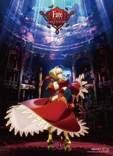 Fate/extra Last Encore - Key Art 2 Wall Scroll officially licensed Fate/Zero Wall Scroll Posters product at B.A. Toys.