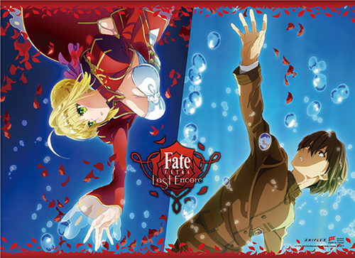 Fate/extra Last Encore - Key Art 3 Wall Scroll officially licensed Fate/Zero Wall Scroll Posters product at B.A. Toys.