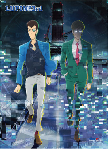 Lupin The Third P.5 - Lupin & Albert Wall Scroll, an officially licensed product in our Lupin The Third Wall Scroll Posters department.