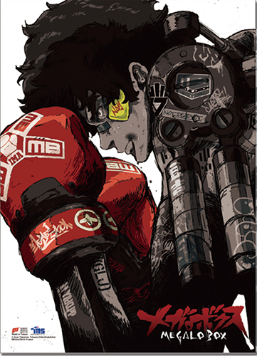 Megalobox - Key Art Wall Scroll, an officially licensed product in our Megalobox Wall Scroll Posters department.