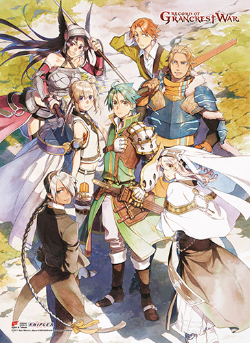 Record Of Grancrest War - Key Art 5 Wall Scroll, an officially licensed product in our Record Of Grancrest War Wall Scroll Posters department.