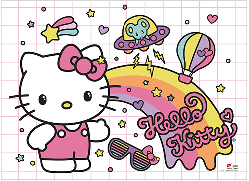 Hello Kitty - Kawaii Kitty Wall Scroll, an officially licensed product in our Hello Kitty Wall Scroll Posters department.
