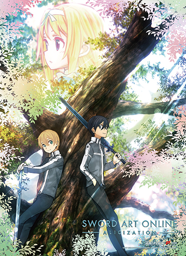 Sword Art Online Alicization - Key Art 2 Wall Scroll officially licensed Sword Art Online Wall Scroll Posters product at B.A. Toys.