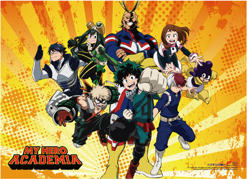 My Hero Academia - S2 Group 4 Wall Scroll, an officially licensed product in our My Hero Academia Wall Scroll Posters department.