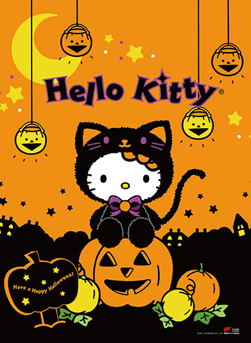 Hello Kitty - Cutie Halloween Wall Scroll, an officially licensed product in our Hello Kitty Wall Scroll Posters department.