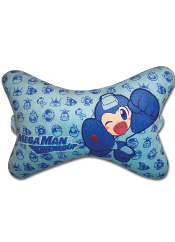 Megaman Powered Up Megaman Chair Pillow officially licensed Mega Man Pillows product at B.A. Toys.