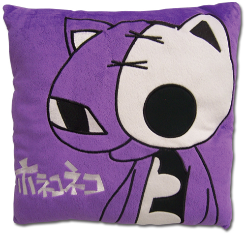 Panty & Stocking Hollow Kitty Velvet Pillow officially licensed Panty & Stocking Pillows product at B.A. Toys.