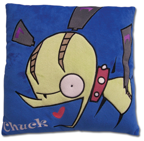 Panty & Stocking Chuck Velvet Pillow officially licensed Panty & Stocking Pillows product at B.A. Toys.