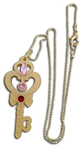Sailor Moon R - Time Key Acrylic Necklace, an officially licensed product in our Sailor Moon Jewelry department.