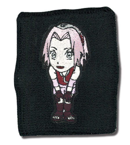 Naruto Shippuden Sakura Wristband, an officially licensed product in our Naruto Shippuden Wristbands department.
