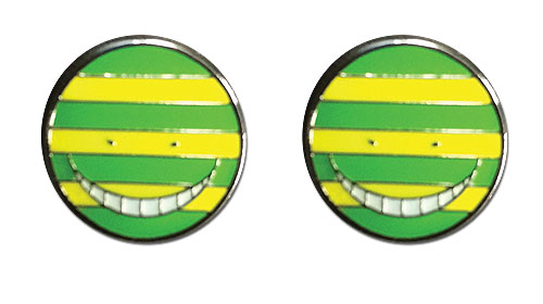 Assassination Classroom - Nameteru Korosensei Earrings, an officially licensed product in our Assassination Classroom Jewelry department.