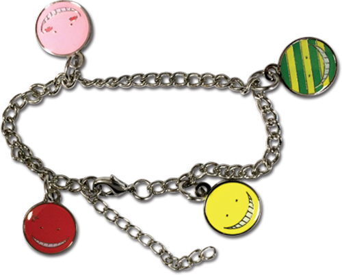 Assassination Classroom - Korosensei Face Bracelet, an officially licensed product in our Assassination Classroom Jewelry department.