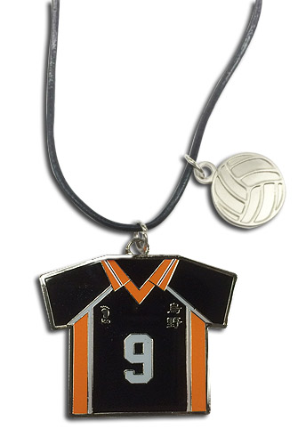 Haikyu!! - Number 9 Team Uniform Necklace, an officially licensed product in our Haikyu!! Jewelry department.
