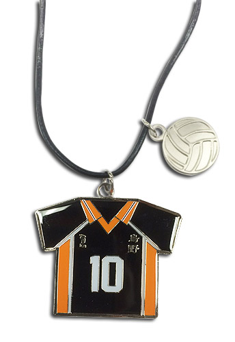 Haikyu!! - Number 10 Team Uniform Necklace, an officially licensed product in our Haikyu!! Jewelry department.