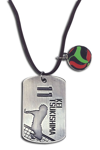 Haikyu!! - Tsukishima Necklace, an officially licensed product in our Haikyu!! Jewelry department.