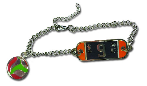 Haikyu!! - Number 9 Team Uniform Bracelet, an officially licensed product in our Haikyu!! Jewelry department.