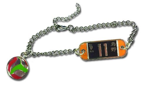 Haikyu!! - Number 11 Team Uniform Bracelet, an officially licensed product in our Haikyu!! Jewelry department.