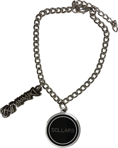 Durarara!!x2 - Dollars Bracelet officially licensed Durarara!! Jewelry product at B.A. Toys.