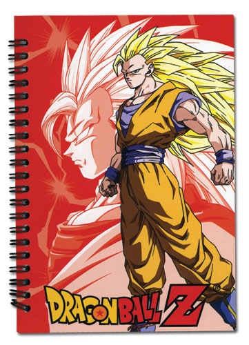 Dragon Ball Z Ss3 Goku Notebook, an officially licensed Dragon Ball Z product at B.A. Toys.