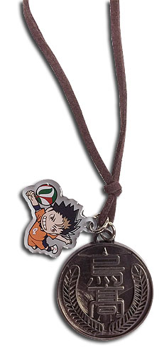Haikyu!! - Yu Sd & Karasuno Necklace, an officially licensed product in our Haikyu!! Jewelry department.